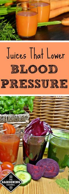 Your vegetable garden harvest can be used to make juices that can lower blood pressure. See if any of your plants fit the bill and if not, try planting these. Healthy Juices, Healthy Drinks, Healthy Eats, Healthy Recipes, Vegetable Smoothies, Juicing Vegetables, Energy Smoothies, Juice Fast, Juicing For Health