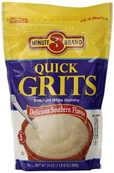 Grits, 24 Ounce (Pack of 12) - http://sleepychef.com/3-minute-grits ...