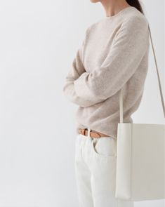 Monochrome - white and tan. For spring capsuling.
