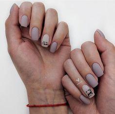 Start Afresh With These New 2020 Spring Nail Colors Nail Manicure, Pedicure, Gel Nails, Stylish Nails, Trendy Nails, Panda Nail Art, Funky Nails, Minimalist Nails, Super Nails