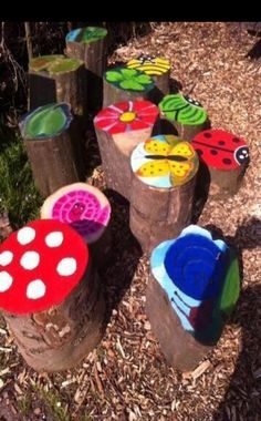 Resultat d'imatges per a Simple DIY Playground Ideas Kids Outdoor Play, Outdoor Play Spaces, Backyard For Kids, Garden Kids, Outdoor Fun, Garden Art, Diy Playground, Preschool Playground, Kids Crafts