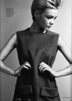 I am obsessed with Carey Mulligan. She is adorable.