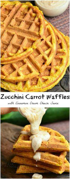 Zucchini Carrot Waff