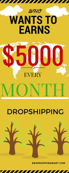 Work from home and make money online through dropshipping model, this is well known way to make money on the side , great side hustle for nine to five people or college students that are looking for extra money. Check this out Now!