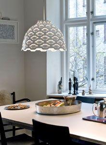 Louis Poulsen LC Shutters White Pendant Light