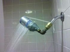 Redneck shower head