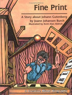 Recounts the story of Johann Gutenberg, who is credited with the invention of printing with moveable type. 64 pages PB  Year 2, Unit 1  Upper Grammar  History  Used for 1 week