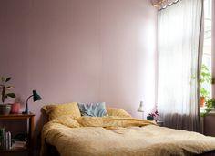 Sovrum Väggfärg 321 - Puderrosa - Inspiration: Auro ekologisk färg och ytbehandling