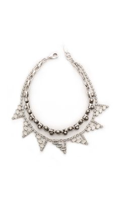 Joomi Lim Modern Muse Double Row Necklace