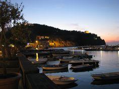 Lacco Ameno by night. Isle of Ischia - Italy