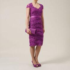 Jacques Vert Embellished lace layer dress- at Debenhams.com
