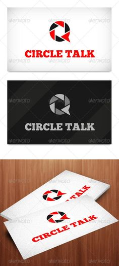 Buy Circle Talk Logo Template by peerforest on GraphicRiver. This a beautiful logo template full of colors simple for artist / portfolio / creative companies, file format is psd. Circle Logo Design, Circle Logos, Logo Design Template, Logo Templates, Graphic Design, Circle Template, Portfolio Logo, Artist Portfolio, Life Logo