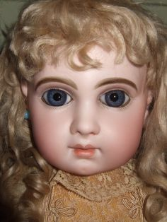 Bebe Jumeau Marked Depose E12J - Castellidoll