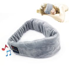 FREE SHIP - 2015 New Wireless Bluetooth Headphone Stereo Bluetooth 4.1 With Microphone Sleeping headset with Eye Mask Function Free Shipping - thousands of products found here http://electronics.peaklifelink.com/
