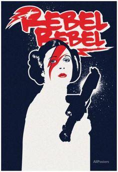 Rebel Rebel Star Princess Solar Eclipse Prints - by AllPosters.ie