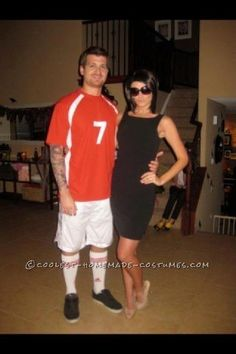 Hilarious Celebrity Couple Costume…The Beckhams!