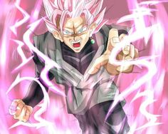 GOKU BLACK SUPER SAIYAN ROSE