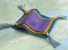 Magic Carpet Coaster - for Princess Jasmine. Station Idea: What if each Princess had a craft?
