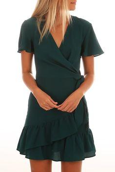 Be Like Me Dress Green