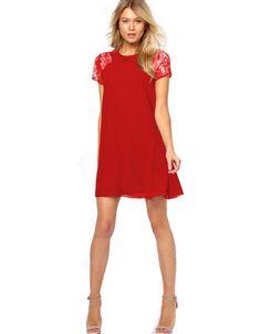 fashion dress 2015, classic dress, day to night dress, classic wardrobe, red, summer style