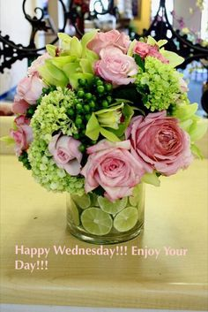 Happy Wednesday! Enjoy your day!