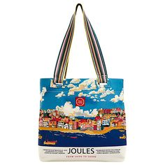 Joules Canvas Tote Bag