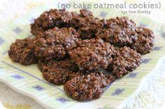 Sew Chatty: {no bake oatmeal cookies}