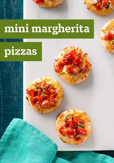 Mini Margherita Pizzas – A can of refrigerated pizza crust and a cookie cutter allow you to make mini Margherita-style pizzas that are as easy to make as they are delicious. Serve up this Italian-inspired appetizer recipe at your next party.