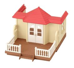 Calico Critters Sylvanian Families HOUSE WITH TERRACE Epoch #SylvanianFamilies