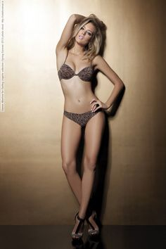 Gianne Albertoni for Darling Lingerie collection (Spring-Summer 2013) photo shoot