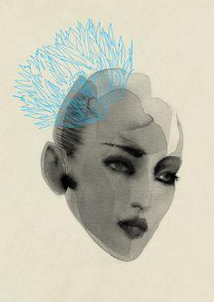 Artist Cecilia Carlstedt at Illustration Division