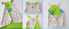 Cute and Colorful Baby Blanket and Toy All in One - http://sewing4free.com/cute-colorful-baby-blanket-toy-one/