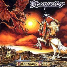 """RECENSIONE: Rhapsody ((Legendary Tales)) A posteriori, definibili come una delle band più conosciute ed importanti del moderno panorama Metal italiano; nel 1997, ancora una splendida promessa. Fu proprio in quell'anno che i Rhapsody of Fire (all'epoca semplicemente Rhapsody) esordirono con il loro primo ed indimenticabile album: quel """"Legendary Tales"""" che difatto teorizzò definitivamente l'idea di symphonic power metal. (Cristiano Morgia)"""