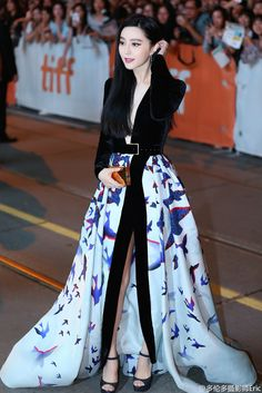 """ Fan Bingbing attends the 'I Am Not Madame Bovary' premiere during the 2016 Toronto International Film Festival at Princess of Wales Theatre on September 8, 2016 in Toronto, Canada. """