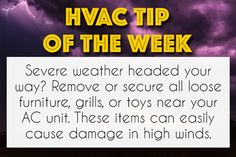 A lot of people have HVAC installed within their home. An HVAC system helps your home's temperature comfortable temperature. Hvac Air Conditioning, Commercial Hvac, Hvac Maintenance, Hvac Installation, Hvac Repair, Ac Units, Thing 1, Severe Weather, The Unit