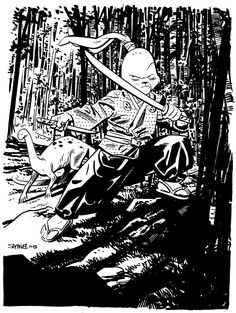 Chris Samnee: Usagi Yojimbo