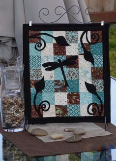 table top quilts -- such a beautiful design and just the right size for a quilt fix
