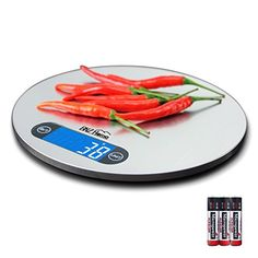 BNZHome Latest Kitchen Scale 11lb5kg Stainless Steel Platform Retractable Hook Large LCD Display *** This is an Amazon Affiliate link. Learn more by visiting the image link.