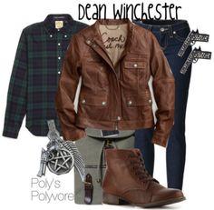 supernatural clothes style | dean winchester # supernatural # spn # fandom fashion # fashion ...