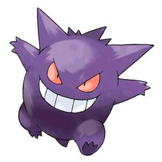 Gengar - 094 - It hides in shadows. It is said that if Gengar is hiding, it cools the area by nearly 10 degrees Fahrenheit. Hiding in people's shadows at night, it absorbs their heat. The chill it causes makes the victims shake.  @PokeMasters