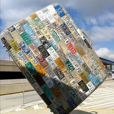 Big Suitcase at #Atlanta Airport #art #hartsfieldJackson