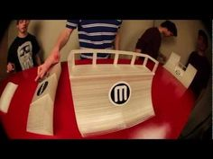 MakerBot A SkatePark! All you Fingerboarders print your own skatepark and skate it like Tony....