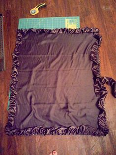 GREAT Tutorial! minky blanket