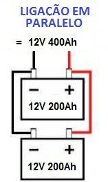 Ligação em paralelo de baterias