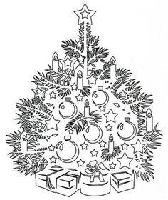 Вытинанка: силуэтное вырезание из бумаги на Новый год - Поделки из бумаги