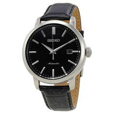 Seiko Classic Automatic Black Dial Men's Watch