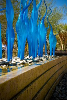 Chihuly glass at the Desert Botanical Gardens. | Photo by http://melissaesplin.com/