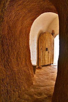 Picture of a door taken in Tunisia.