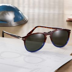 The colors of mountains and sea breathe life into Terra e Oceano sunglasses by Persol