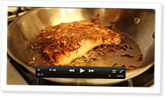Cooking Coconut-Crusted Salmon by Michele Vieux - CrossFit Journal